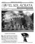 El Sol Ácrata N°1, Marzo de 2012.