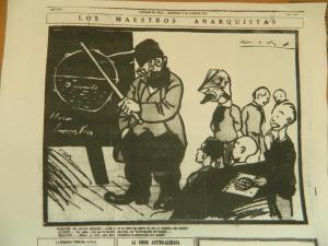 Los maestros anarquistas (El Diario Ilustrado, 1925)